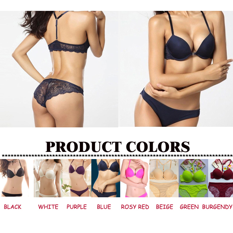 Lace Bra Set Y-line Sexy Bra and Panty Sets Underwear Push Up Padded Brassiere Women Intimates Japanese lingerie Girls Hot Bra(China (Mainland))