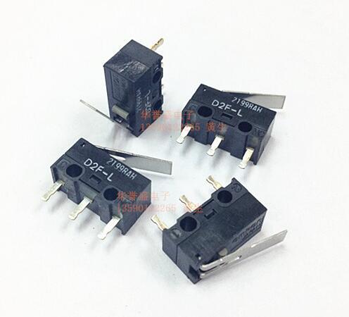 NEW OMRON D2F-L D2FL D2F 0.74N Micro switch Travel switch DIP3 Free shipping(China (Mainland))
