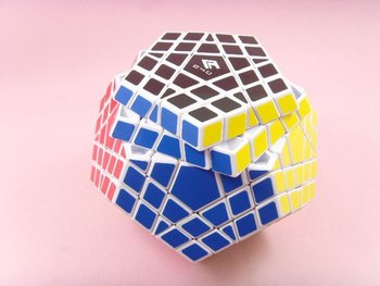New White 5x5 12 colors Gigaminx Magic Cube educational Toy