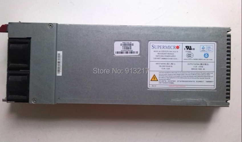 PWS-1K22-1R 1200W Power Supply for NF560D2 PSU working DHL EMS free shipping(China (Mainland))