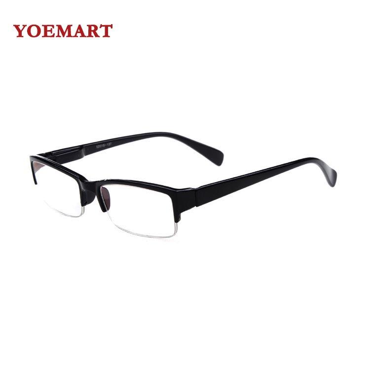 Hot Sale Myopia Eyewear Woman Man Fashion Half Frame ...