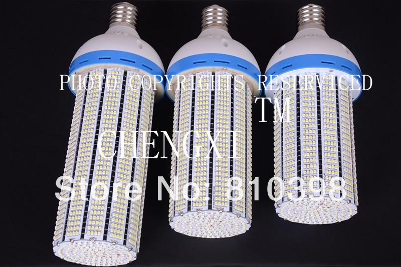 2PCS Fedex DHL Free Shipping 80w E40 80watt led corn bulb lamp repalce 200w Metal Halide halogen lighting Fins Sink 360 Degree(China (Mainland))