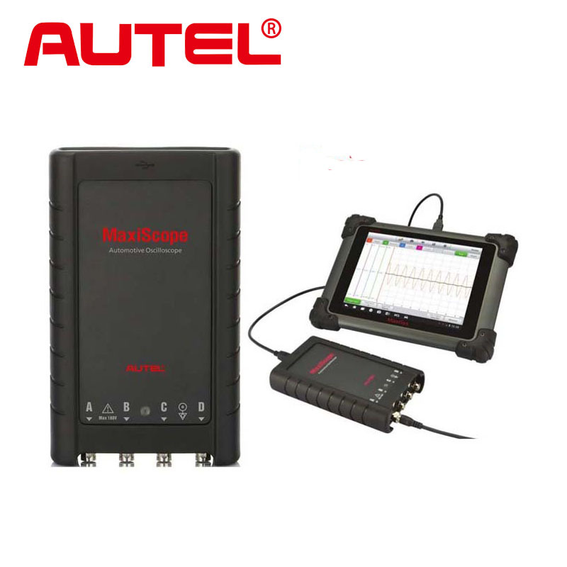 Autel MaxiScope MP408 4 Channel Automotive Oscilloscope Basic Kit Works with Maxisys Tool Autel MaxiScope MP408 Interface(China (Mainland))