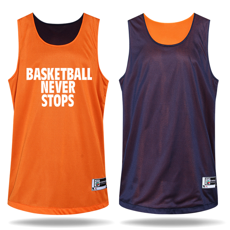 Newest Men's Double-sided Set Wear Reversible Basketball Clothes Suit Training Shirt+shorts Game Uniforms Custom Design Clothing(China (Mainland))
