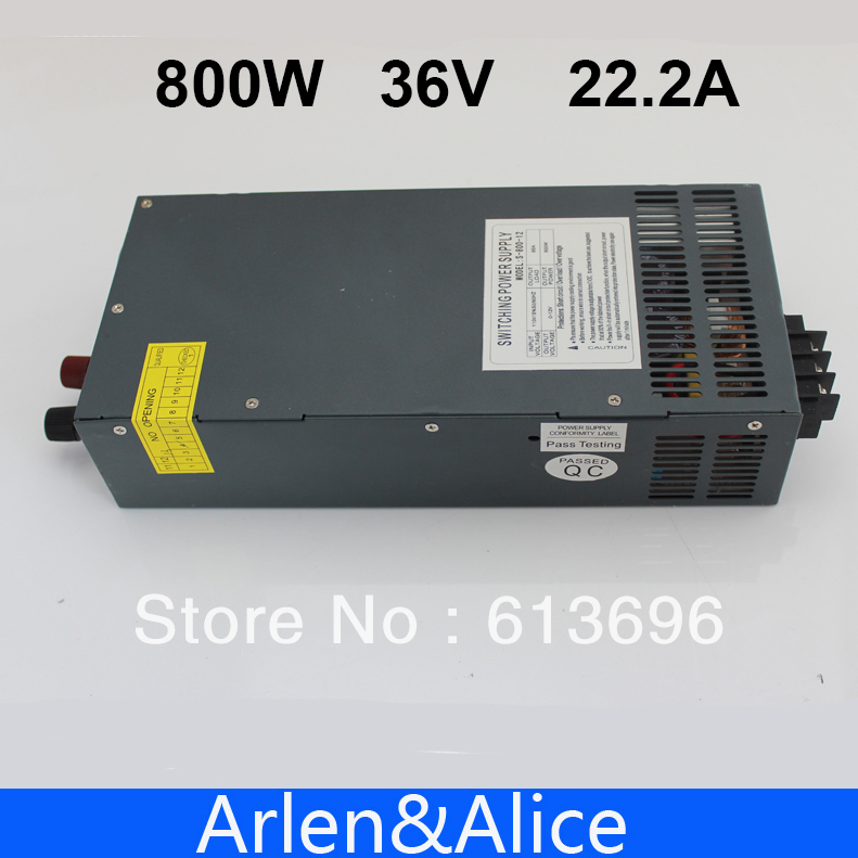 800W 0V TO 36V 22.2A Single Output Switching power supply AC to DC 110V or 220V<br><br>Aliexpress
