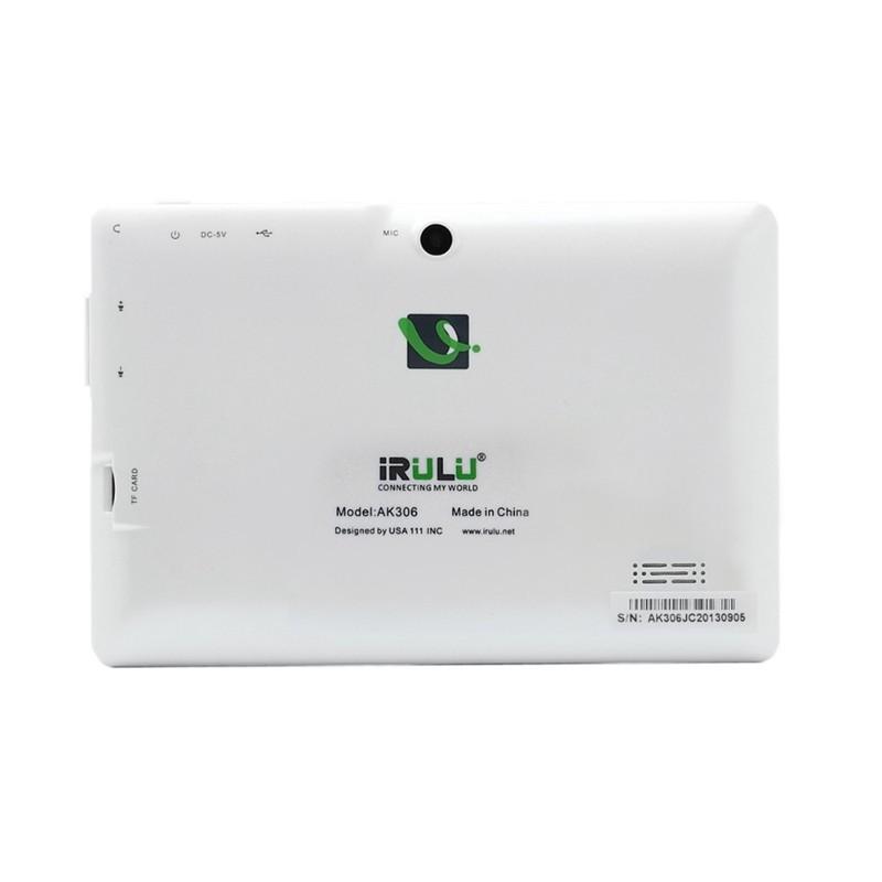 irulu Экспро 7» Планшетные 1024 * 600 hd android контейнер 4.4 четырехъядерных процессоров 1, 5 ГГц 8 ГБ ПЗУ двойной kamera google app играть wifi multi-farben heiß