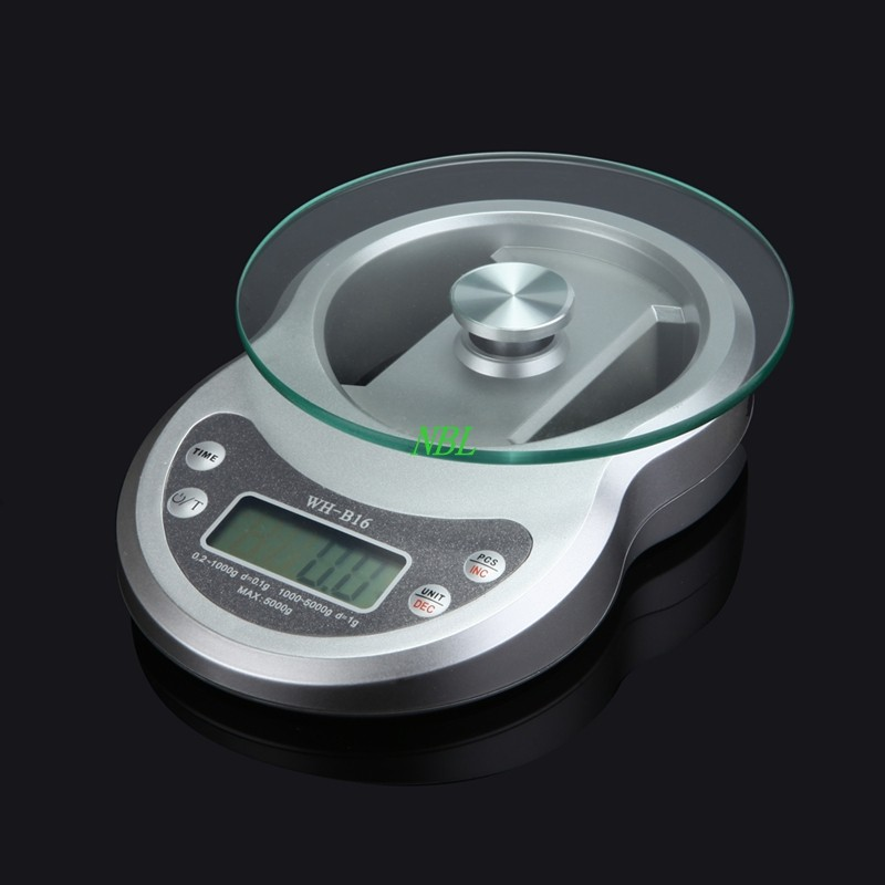 Brand 5kg double range electronic scales 5000g for 0 1g kitchen scales