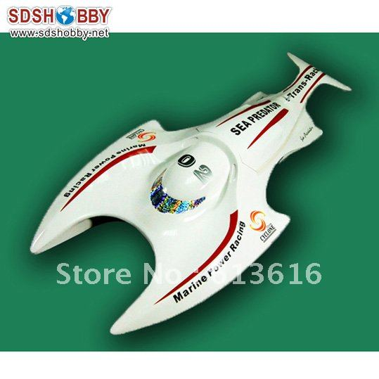 108 Sea Predator Electric Brushless RC Boat with 3650 Motor, 50A ESC(China (Mainland))