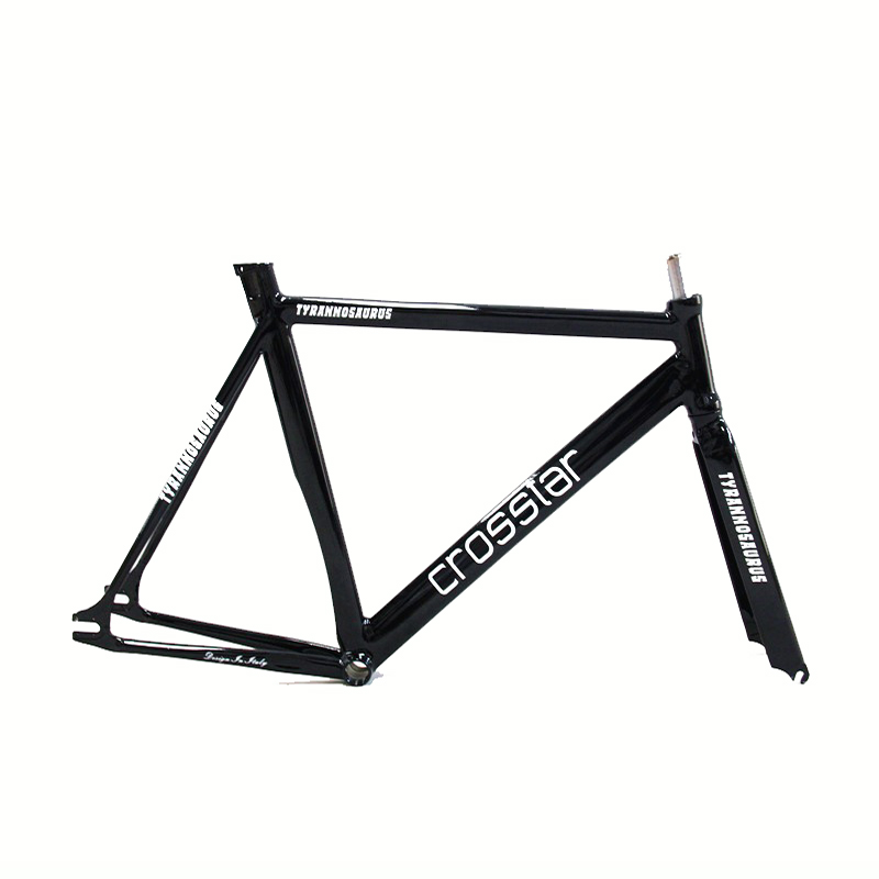 700C bike frame 54cm 58cm 60cm TYRANS T1 FRAMESET TRACK BIKE frame and fork fixed gear frameset fixie bike velo frameset BICYCLE(China (Mainland))