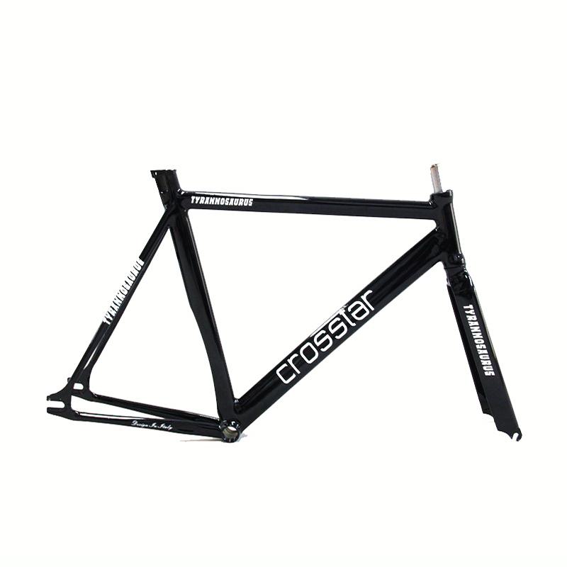 700C bike frame 54cm 58cm 60cm TYRANS T1 FRAMESET TRACK BIKE frame and fork fixed gear frameset fixie bike velo frameset BICYCLE(China (Mainland))