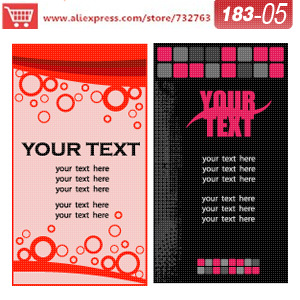 0183 05 business card template for print business card