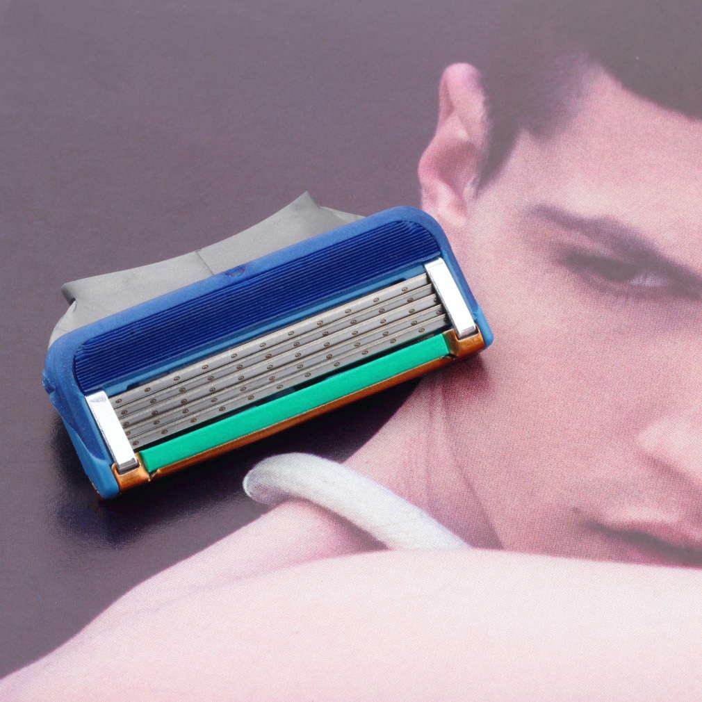 1pcs/lot wholesale Men's Face shaving Razor Blade Shaver Blades,Shaving razor Blades For Men Sharpener RU/EU/US Razors(China (Mainland))