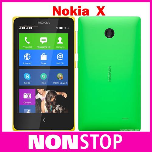 NOKIA X RM-980 Dual Sim original Unlocked Qual-Core 4GB ROM 4.0'' 3MP 3G WIFI GPS Nokia Platform OS Cell Phones Refurbished(China (Mainland))