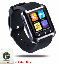 Original U80 Smartwatch For iPhone Samsung For Sony LG Android Phone BT-notification Anti-Lost MTK Smart Bluetooth Wrist Watch