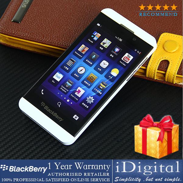 "Original Blackberry Z10 4.2"" Quad-core 1.5GHz RAM-2G 16GB 3G 8MP GPS WIFI Unlocked Cell Phone Refurbished(China (Mainland))"