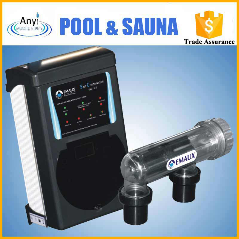 Ssc15e Emaux Swimming Pool Salt Chlorinator Salt Generator In Pool Accessories From Sports