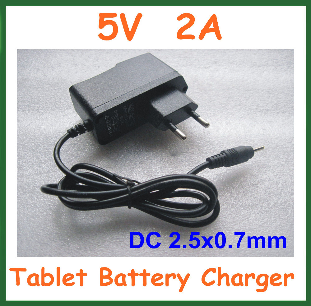 Universal Charger 5V 2A DC 2.5mm Power Adapter Supply for Tablet PC iWork8 3G Q88 Chuwi V88 Cube U35GT2 U39GT(China (Mainland))