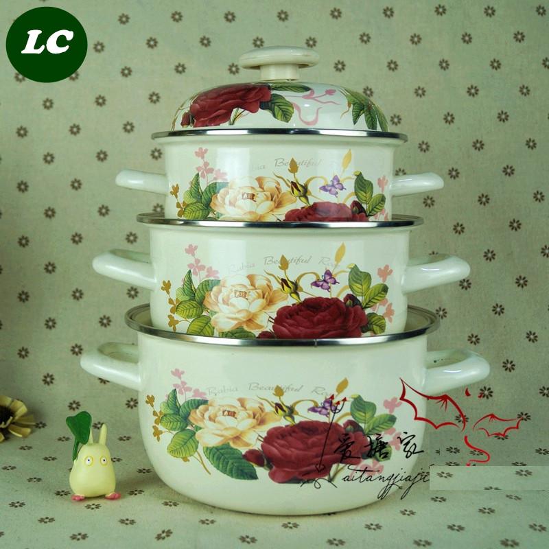 Utensilios de cocina esmalte compra lotes baratos de for Utensilios de cocina economicos