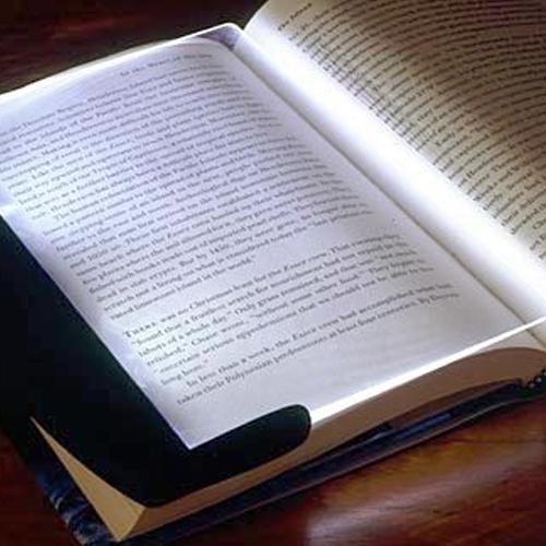 LED Light wedge Panel Book Reading Lamp Paperback Night #1715(China (Mainland))