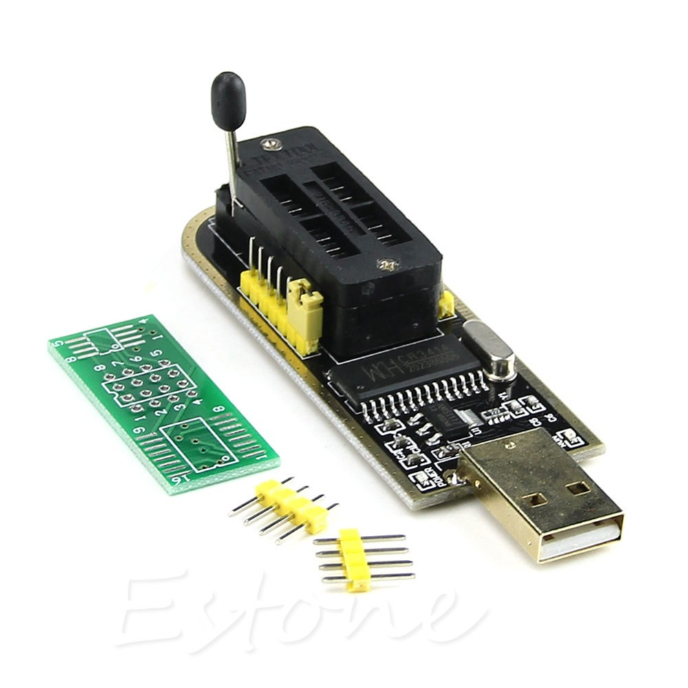 J34 Free Shipping USB Programmer CH341A Series Burner Chip 24 EEPROM BIOS Writer 25 SPI Flash NEW(China (Mainland))