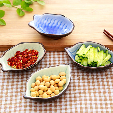 Fashion Ceramics Storage Small Dish Plate Vinegar Dish Snack Sauce Porcelain Soy Sauce Tray Buffet Sushi Soy Sauce Storage Tray(China (Mainland))