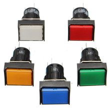 Buy 16mm Latching DC 12V 3A Push Button Switch LED Light push button switches for $1.34 in AliExpress store