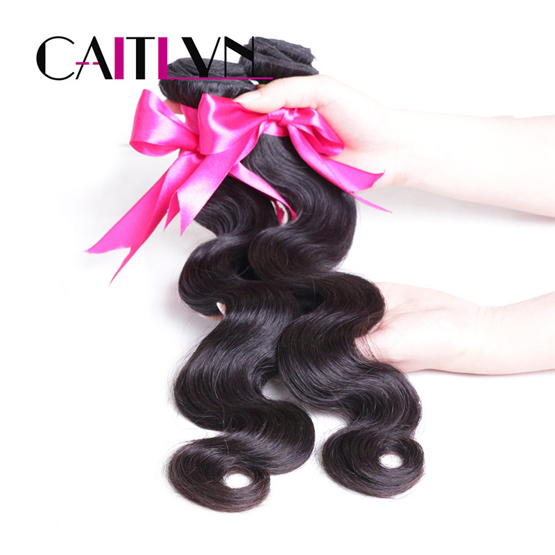 8A Halo Lady Hair Products Malaysian Virgin Hair 4 Bundles Wet And Wavy Human Hair Extension Natural And Weave