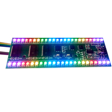 Buy 5V level indicator VU Meter RGB Amplifier Board MCU Adjustable Display Pattern Dual Channel Dual 24 LED Amplifiers DIY for $11.33 in AliExpress store