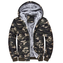 Buy Sudaderas Hombre Sweatshirt Men Camouflage Hoodies Tracksuits Thick Velvet Fleece Camo Coat Mens Hoodies Jacket Brand Clothing for $27.80 in AliExpress store