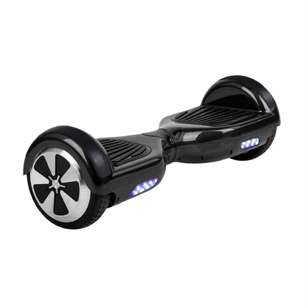 free ship ul 2 Wheel scooters overboard Motorized oxboard Self Smart Balance Scooter Electric Skateboard with Led i Hoverboard