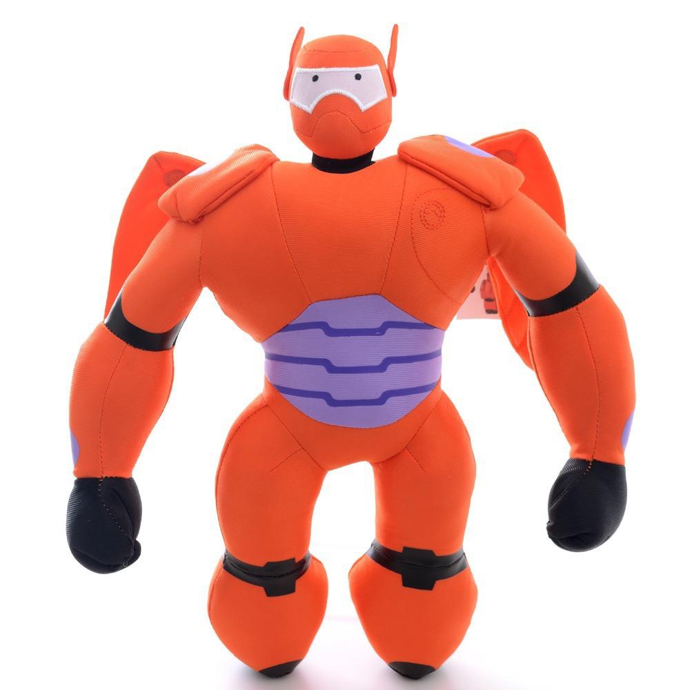 Hot Red Plush Big Hero 6 Robot Baymax Toys Stuffed