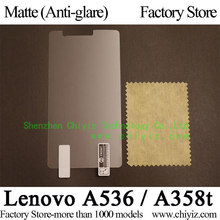 Matte Anti glare Frosted LCD Screen Protector Guard Cover Protective Film Shield For Lenovo A536 phone / Lenovo A358t