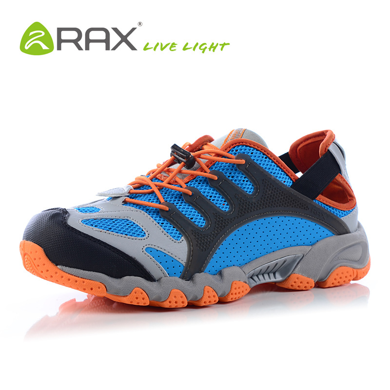 RAX hiking shoes men quick dry shoes breathable men outdoor shoes slip resistant Travel shoes fashion men sneakers B662(China (Mainland))