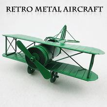 Miya ZC007 DIY Retro Iron Drone Mode Creative Home Furnishing Ornaments Airplane model Children's Gift Toys