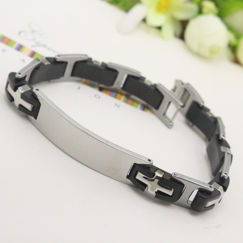 Stainless Steel Bracelets New Fashion Jewelry For Women or Men Gift Rushed Clearance Free Shipping BEA037(China (Mainland))