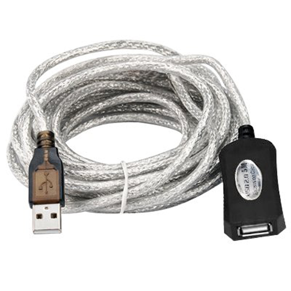 5m USB 2.0 Active Repeater Cable Extension Lead,FREE SHIPPING(China (Mainland))