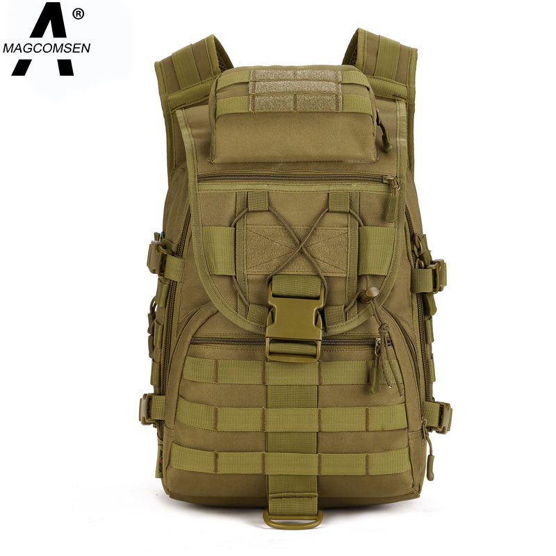 Outdoor Military Tactical Assault Backpack Waterproof MOLLE Backpack Sports Camping Rucksack 3P Tad Backpack 40L AG-BJDN-029(China (Mainland))