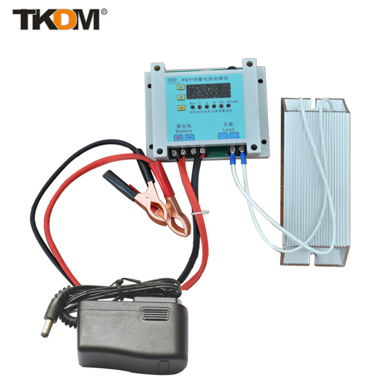 TD New Brand Digital Battery Tester and Discharger 1-20V for Car Motorcycle vehicles Free Shipping +12V Power Supply<br><br>Aliexpress