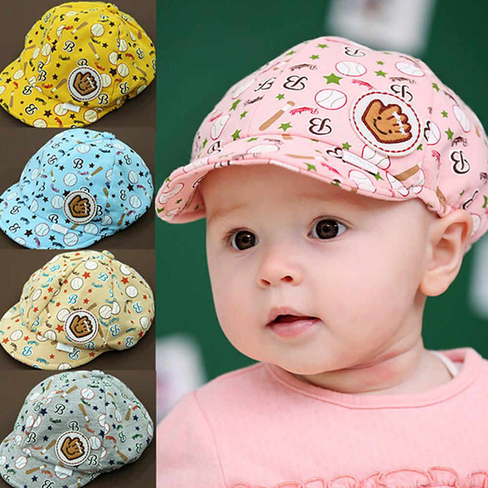 New Fashion Baby Beret Hats Child Baseball Caps Kid Peaked Hats Infant Lovely Cricket-Cap For Girl Boy(China (Mainland))