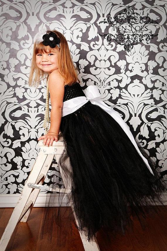 black baby bridesmaid flower girl wedding dress tulle fluffy ball gown birthday costume cloth Cinderella tutu party dresses(China (Mainland))