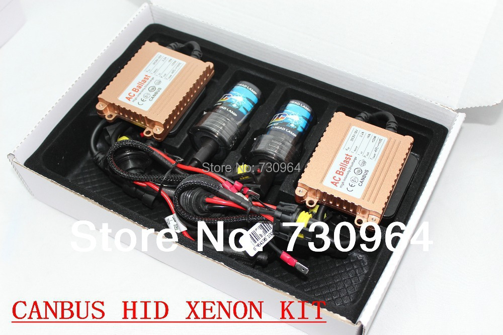 KIA/Volkswagen/Modern/Ford/Buick/Renault/Chevrolet/Dodge Car H1/H7 Slim Canbus 35W 12V Xenon HID Ballast Replacement Kit(China (Mainland))