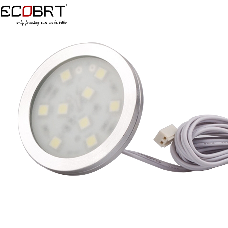 Home Under Cabinet Furniture lights Aluminum Ce Limited Special Offer Led Puck Spotlights SMD5050 Chip 8pcs/lot(China (Mainland))