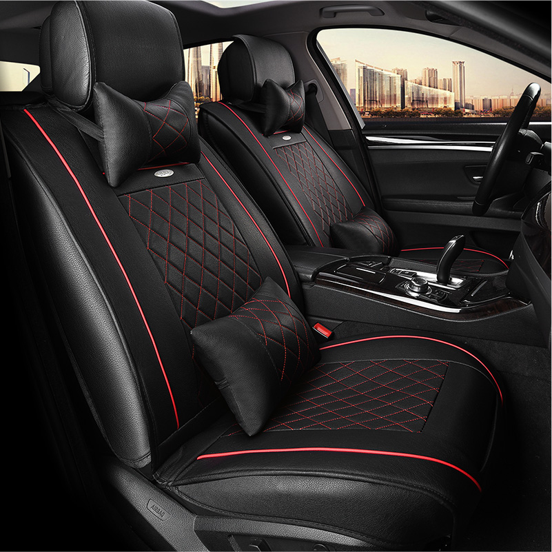 Front Rear Special Leather Car Seat Covers For Toyota