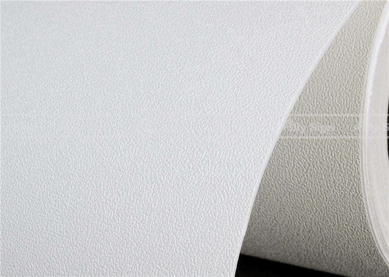 Printable Wallpaper Decorative Paper Eco Solvent Media PVC Material with Self Adhesive(China (Mainland))