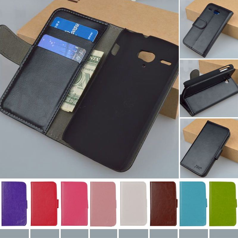 Original J&R Brand Leather Case For Huawei U8836D G500 Pro U8832D Wallet Case with ID Card and Stander ,Free Shipping(China (Mainland))