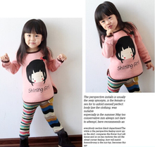 fashion Autumn baby sweater knitted children sweater Long sleeve O-Neck girls sweater shirts children clothing ropa de ninas(China (Mainland))