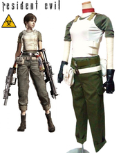 Free Shipping Resident Evil Rebecca Chambers Game Cosplay Costumes