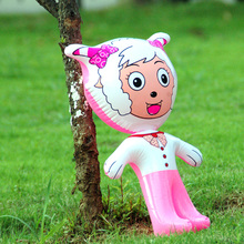Inflatable animals stand pleasant goat inflatable toys Cartoon toys PVC animal toys for children(China (Mainland))
