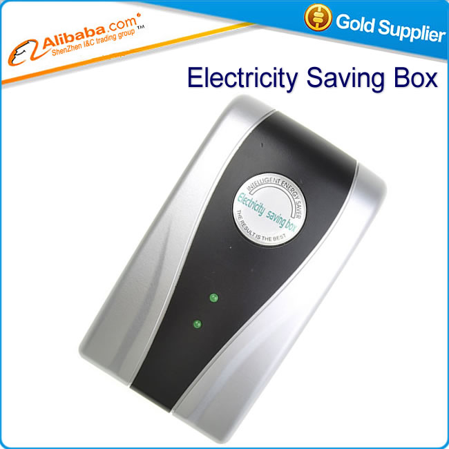 Hot selling SD001 28KW Electricity Saving Box EU Plug Electric Saver Device Power Factor Saver Electronic Energy Power Saver(China (Mainland))