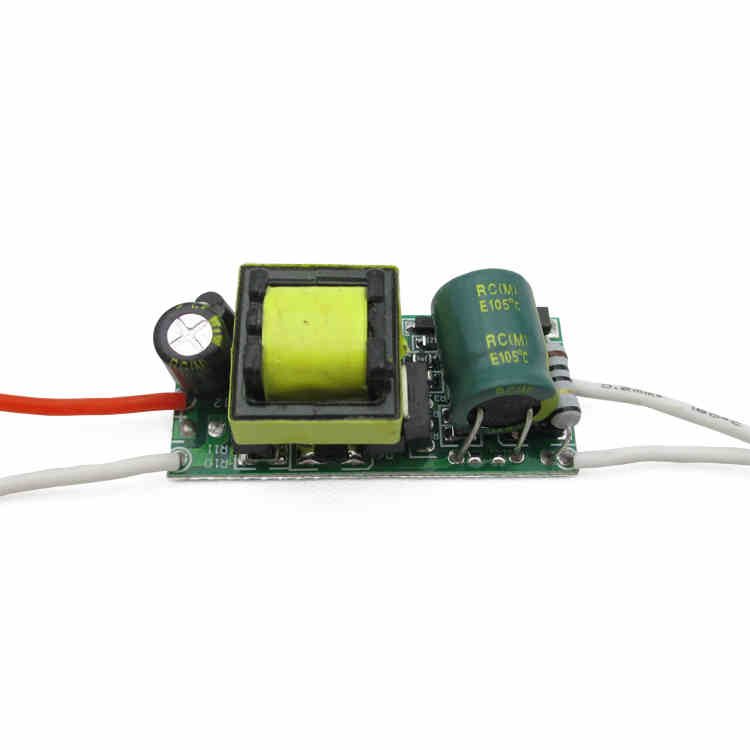 Bulb Built-in LED driver constant current power supply circuit board module 6-10 X 1W(China (Mainland))